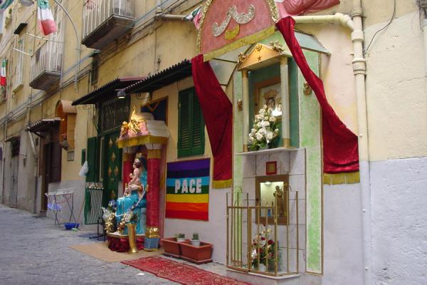 Picture of Small street temple in Naples