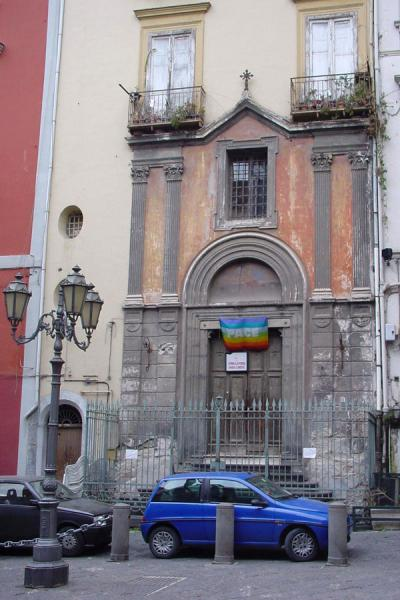 Church integrated with house | Naples Streets | Italy