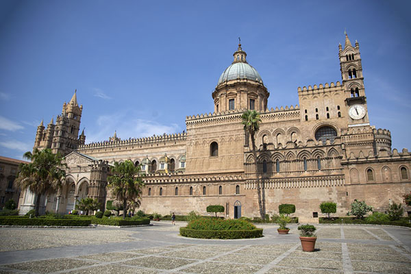 Foto van The cathedral of PalermoPalermo - Italië