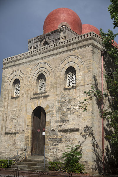 Photo de Outside view of the San Cataldo churchPalermo - l'Italie
