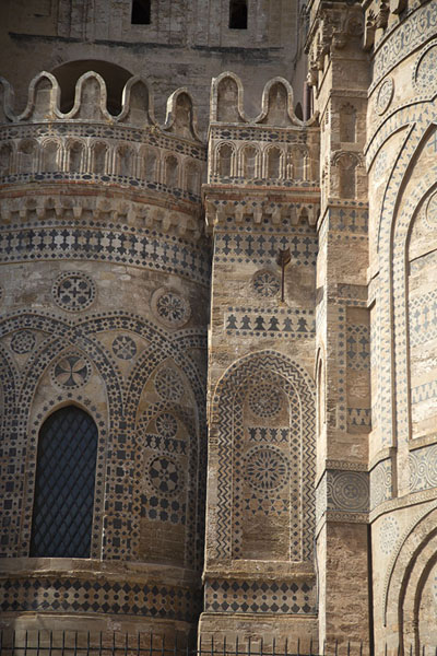 Close-up of Palermo Cathedral | Palermo churches | Italy