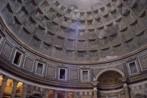 Picture of Pantheon (Italy): Pantheon: inside view