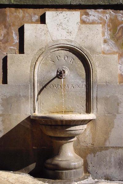 Picture of Rome: fountain near Forum Romanum