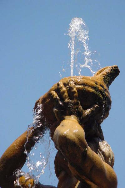 Picture of Fountains in Rome (Italy): Bernini's Fontana del Tritone, Rome