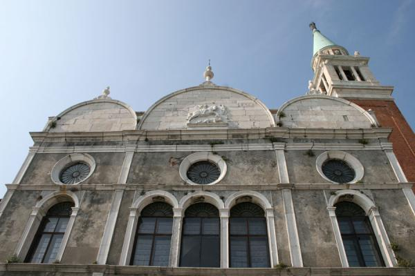Looking up San Giorgio Maggior from the side of the church | San Giorgio Maggiore | Italy