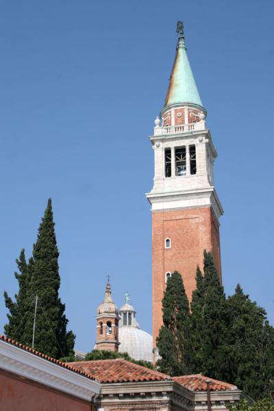 Campanile or bellfry of San Giorgio Maggiore church | San Giorgio Maggiore | Italy