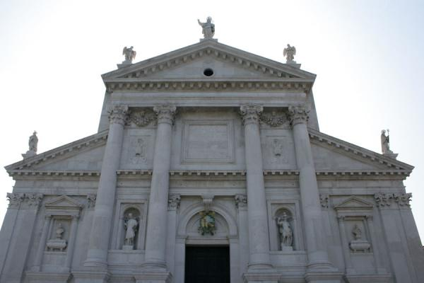 Picture of Facade of San Giorgio Maggiore by Andrea Palladio