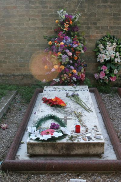 Igor Stravinsky is buried at San Michele cemetery | San Michele Cemetery | Italy