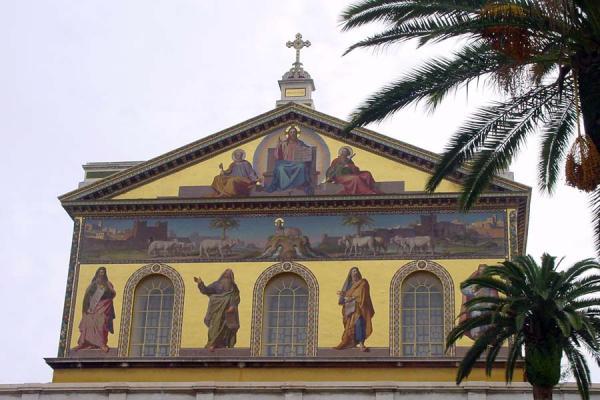Main entrance | San Paolo fuori le Mura | Italy