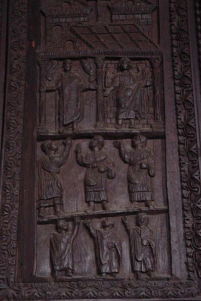 Picture of Santa Sabina church (Italy): Wooden door of Santa Sabina, Rome