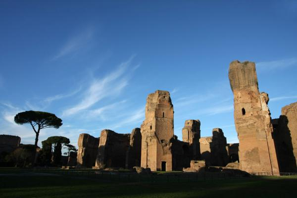 Ruins of the Terme di Caracalla | Baths of Caracalla | Italy