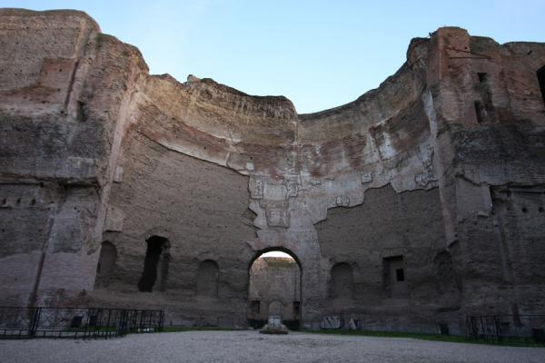 Picture of Baths of Caracalla (Italy): Interior of the Baths of Caracalla