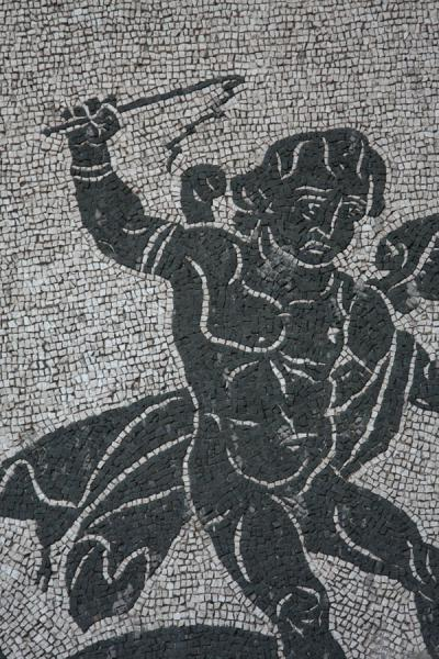 Picture of Mosaic of the Baths of Caracalla