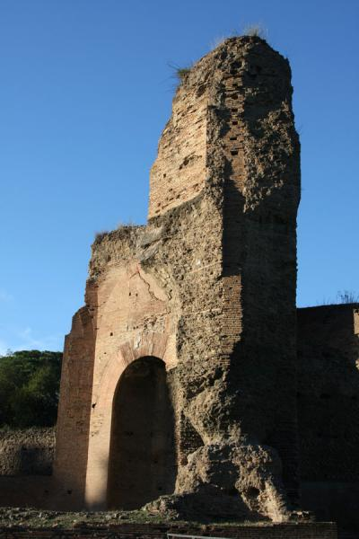 Picture of Baths of Caracalla (Italy): Testimony of the enormous size of the Baths of Caracalla