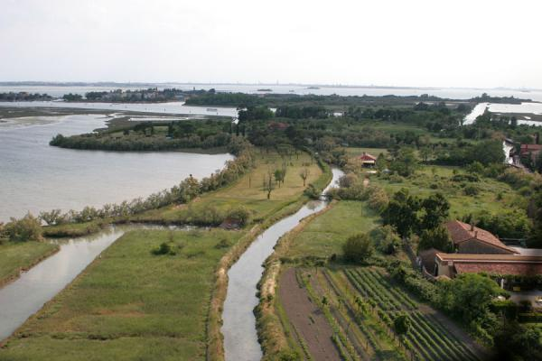 Picture of Torcello (Italy): Torcello: view from belltower of Santa Maria Assunta Cathedral