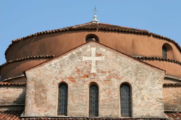 Facade of Santa Fosca church in Torcello | Torcello | Italy