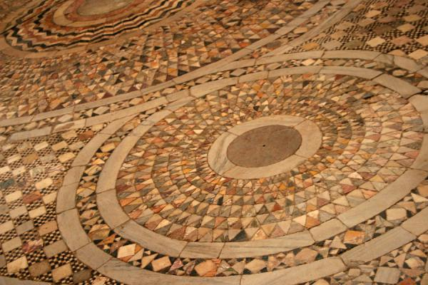 Mosaic on floor of Santa Maria Assunta Cathedral | Torcello | Italy