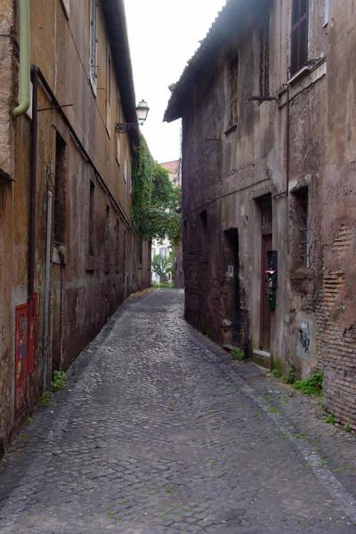 Picture of Trastevere: alley - Rome
