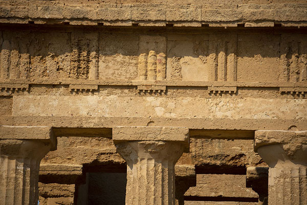 Close-up of the Doric Temple of Concordia | Valley of the Temples | 意大利
