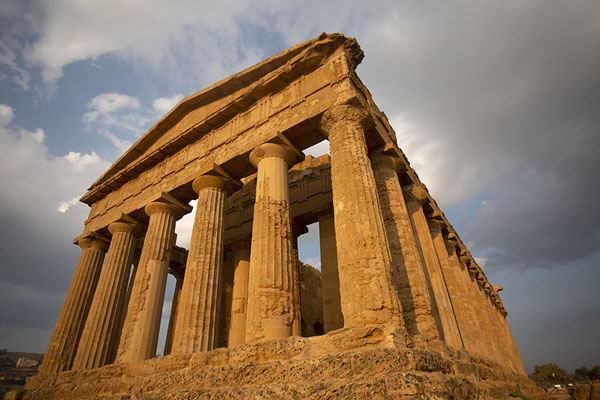 Temple of Concordia in the late afternoon - 意大利