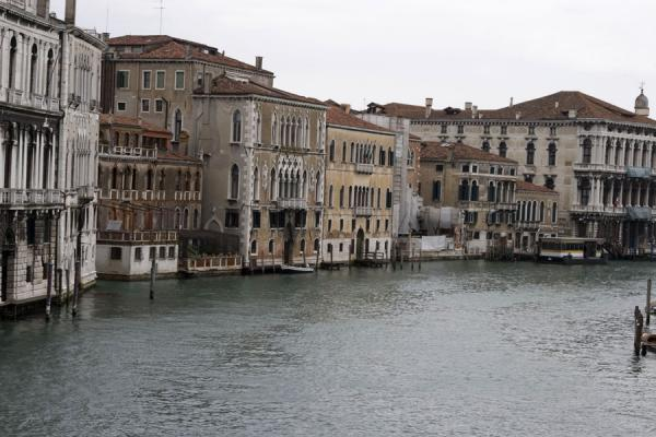 Picture of Houses on a canal in Venice