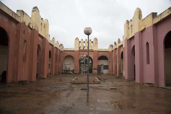 Courtyard of the museum of Bomdoukou | Bondoukou | Costa Marfil