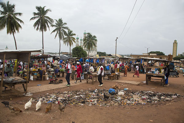 Photo de Market of BondoukouBondoukou - Côte d'Ivoire