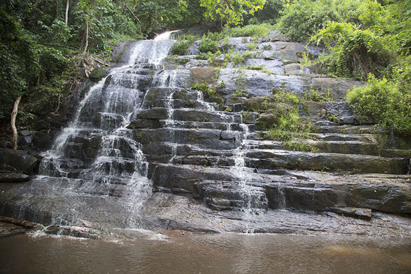 Frontal view of the cascade | Cascades de Man | Ivory Coast