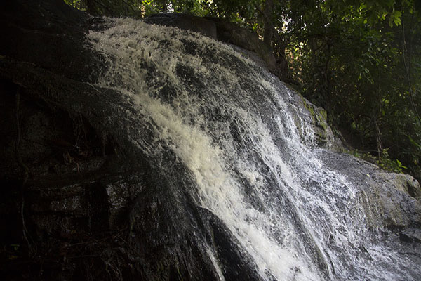 Upper part of the waterfall | Cascades de Man | Costa Marfil