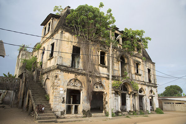 Maison Ganamet is one of the most curious colonial buildings of Grand Bassam | Grand Bassam | Ivory Coast