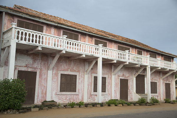 Two-story building with balcony in Grand Bassam | Grand Bassam | Ivory Coast