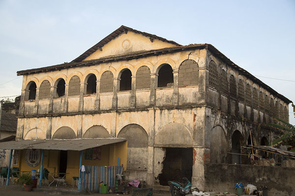 One of the colonial buildings of Grand Bassam | Grand Bassam | Ivory Coast