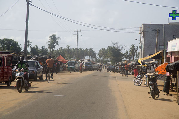 Picture of Main street in JacquevilleJacqueville - Ivory Coast