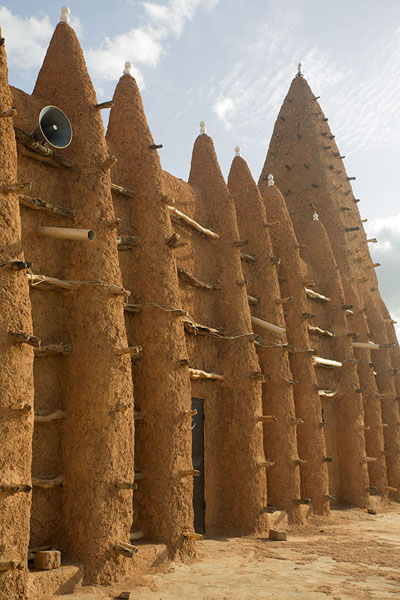 Photo de North wall of the mosque of KongKong - Côte d'Ivoire