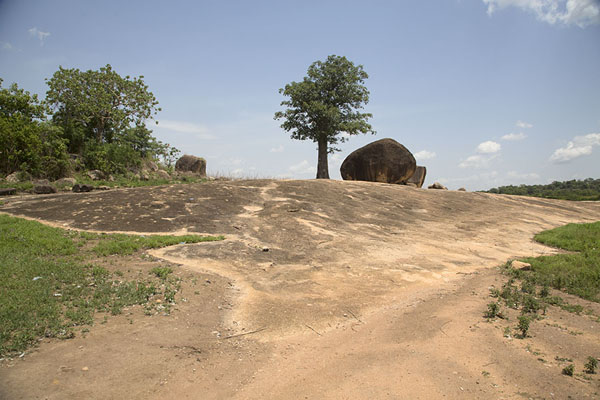 View of the sacrificial site near Mont Sienlow | Korhogo | Ivoorkust