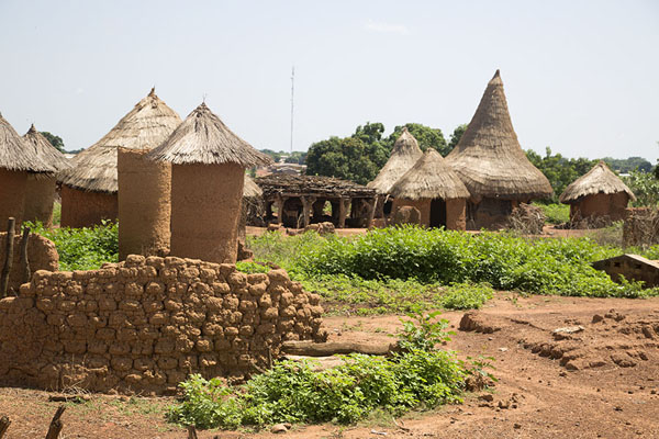 Picture of Overview of the traditional section of Niofoin villageNiofoin - Ivory Coast