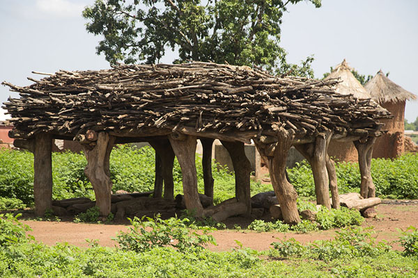 Picture of Niofoin (Ivory Coast): The Kafounda, a special house where problems are settled