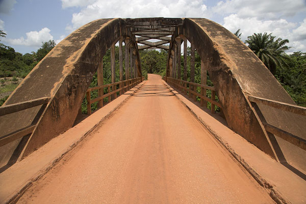 View of the arched section of Pont Weygand | Pont Weygand | Ivory Coast