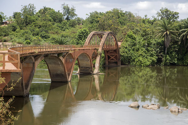 Photo de Pont Weygand seen from the east side of the bridgePont Weygand - Côte d'Ivoire