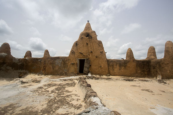 Rooftop view of the mosque of Sorobango | Sorobango moskee | Ivoorkust