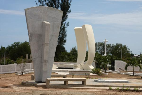 Monument for Donald Sangster and Hugh Lawson Shearer | National Heroes Park | Jamaica