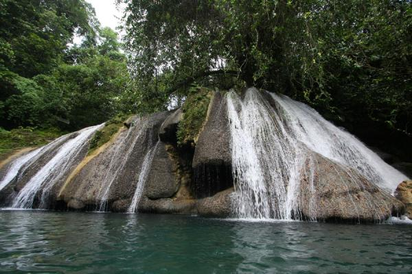 Foto van Jamaica (Reach Falls: frontal view)