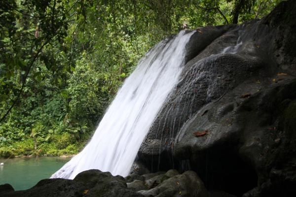 Picture of The main waterfall at Reach Falls