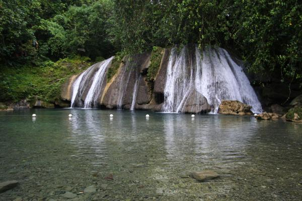 Crystal clear pool at Reach Falls | Reach Falls | Jamaica
