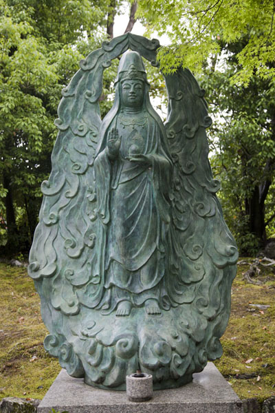 Statue of Buddha on the grounds of the Tenryu-ji temple | Arashiyama | Japan