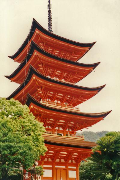 Five storied pagoda | Miyajima | Japan