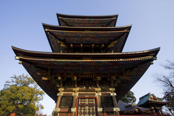 Three Storied Pagoda near the Great Main Hall | Narita-san Shinsho-ji temple | Japan