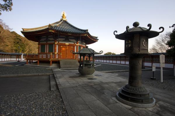 Picture of Hall built with the hope of realizing world peace, based on the ideas of Prince Shotoku