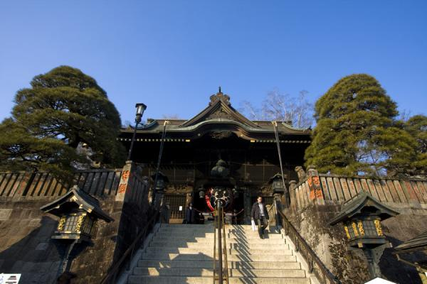 Picture of Stairs leading to Niomon Gate, the main entrance of the Narita-san temple complex