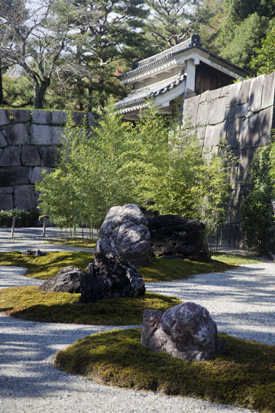 Picture of Waraku-an, part of the northern side of Nijo Castle complexKyoto - Japan